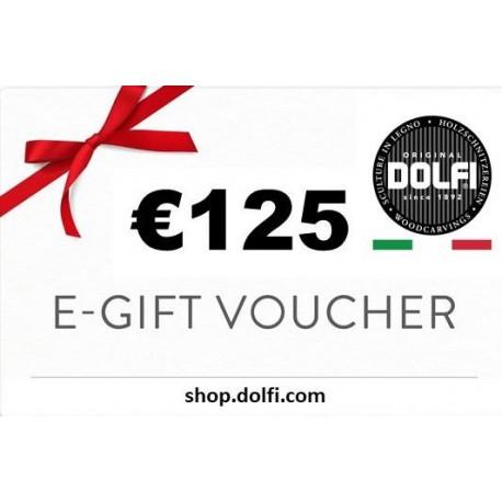 Voucher Gift Card 125€