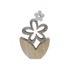 Holz-Blume zum Dekorieren