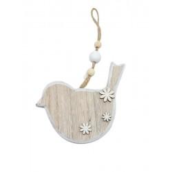 Wooden bird to hang
