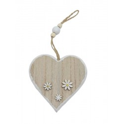 Wooden heart to hang