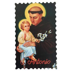 Wooden Magnet Saint Anthony of Padua