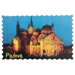 Holzmagnet mit Basilika Hl. Antonius von Padua