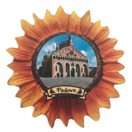 Wooden Magnet the sun fower of Saint Antony