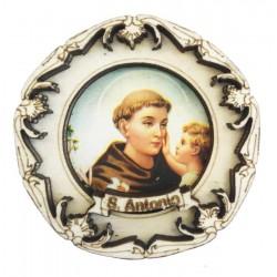 Holzmagnet mit Hl. Antonius von Padua
