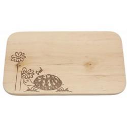 Cutting board - turtle 26x15 cm