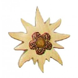 Magnet - Edelweiss flower