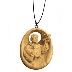 Collana con San Francesco - naturale
