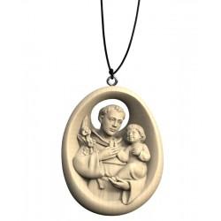 Collana con Sant'Antonio - naturale