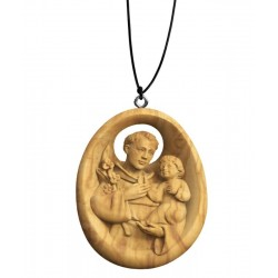 Collana con Sant'Antonio - ulivo