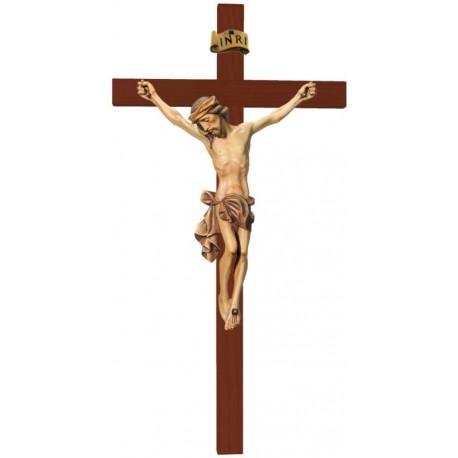 Corpo di Cristo finemente scolpito in legno pregiato