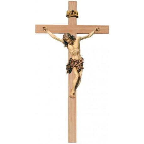 Corpo di Cristo moderno su croce - brunito 3 col.