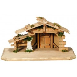 Capanna in legno per Presepe Zeller