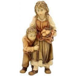 Hirtenmädchen mit Junge