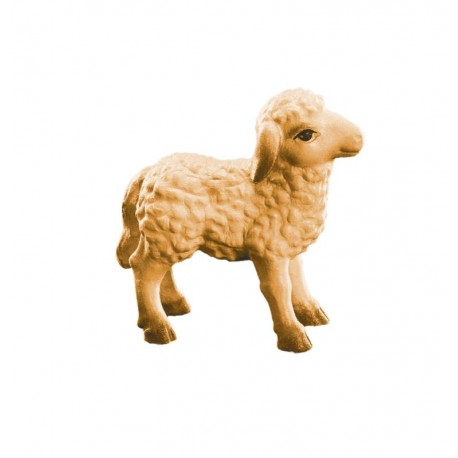 Lamb for wood nativity set - stained 3 col.