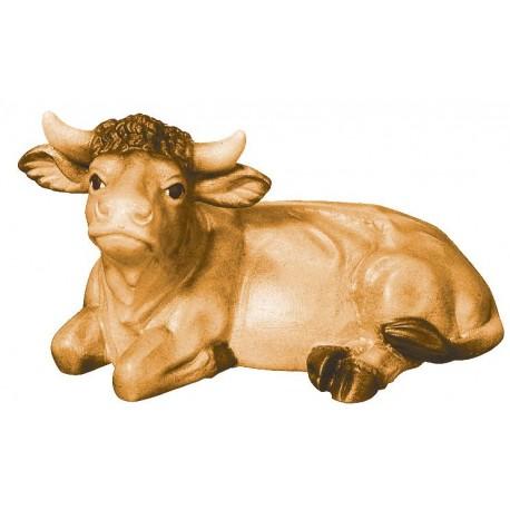 Bue animale in legno - brunito 3 col.