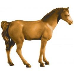 Pferd Braun - Holz in verschiedenen Brauntönen lasiert