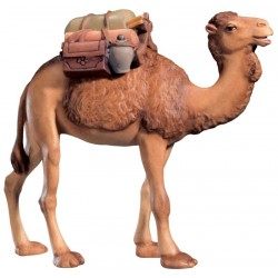 Camel with Saddle - lightly colored with oil paint