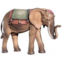 Elefante per presepe finemente scolpito