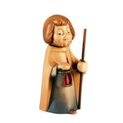 San Giuseppe con bastone per presepe Aurora