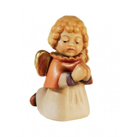 Angel carved in maple wood carved
