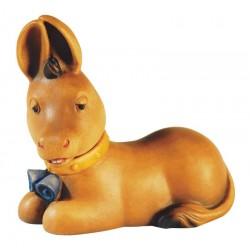 Esel - Das Tier bezieht sich auf die Größe der stehenden Figuren, Original Südtiroler Schnitzereien