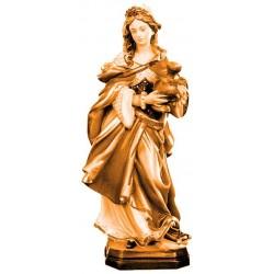 Heilige Maria Magdalena in Holz geschnitzt - mehrfach gebeizt