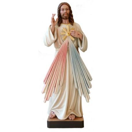 Barmherziger Jesus - Leicht mit Ölfarben lasiert