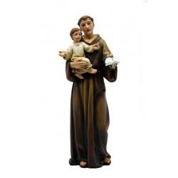 Sant'Antonio di Padova realizzato in pasta di legno