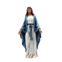 Our Lady of Grace Made in Poly Resin and wood Paste Large Religious Statues for Sale - Made in Italy
