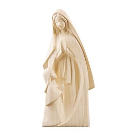 Madonna Lourdes statua in legno