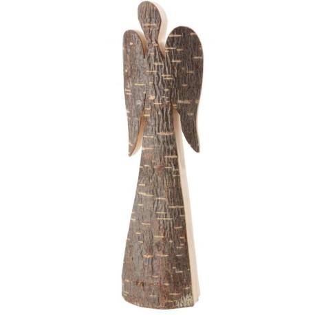 Forest Decor Wooden Angel Figurine