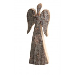 Guardian Angel in bark 3,6 inch