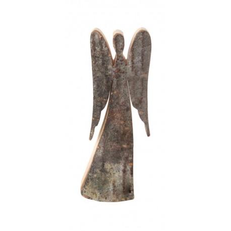 Angelo custode di legno 6 cm
