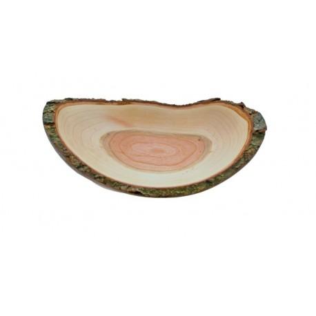 Schale aus Holz 17,5 x 11 cm