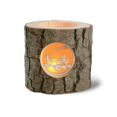 Tree Trunk - Candles and Candle Holders - Dolfi 50Th Wedding Anniversary Gifts - Made in Italy