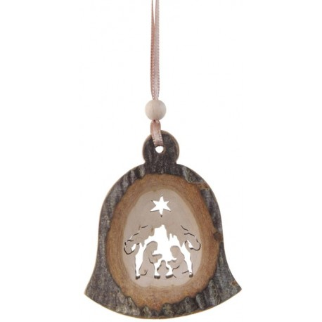 Addobbo campanella di legno