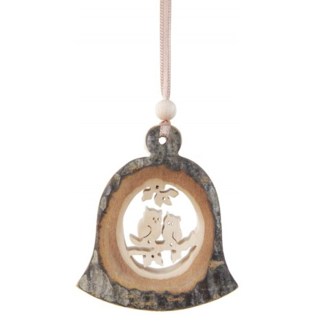 Wooden Bell-Shaped Decoration
