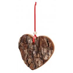 Herz mit Rinde 9cm