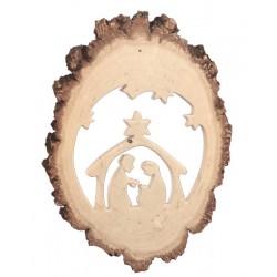 Delicati motivi di storie 3 D scolpite in legno