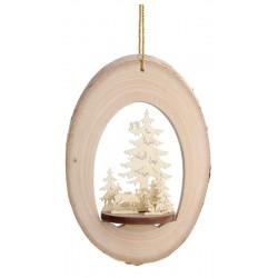 Addobbo per albero con motivo in 3D