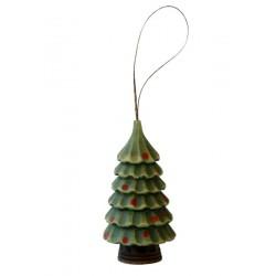 Addobbi natalizi esclusivi scolpiti in legno pregiato