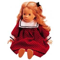 Bambola in legno Erica da collezione
