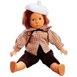 Bambola in legno Andrea da collezione