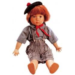 Bambola in legno Matteo da collezione