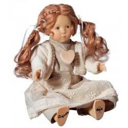 Bambola Stefania di legno