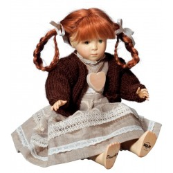 Collectible Wooden Doll Daniela - Dolfi 14 year Anniversary Gift - Made in Italy
