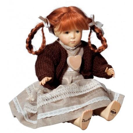 Daniela Puppe aus Holz