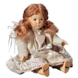 Collectible Wooden Doll Carmen
