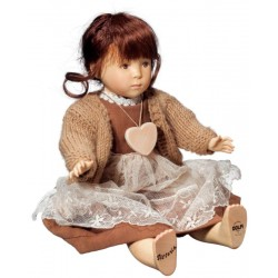 Collectible Wooden Doll Vittoria - Dolfi Retirement Gift Ideas for Men - Made in Italy