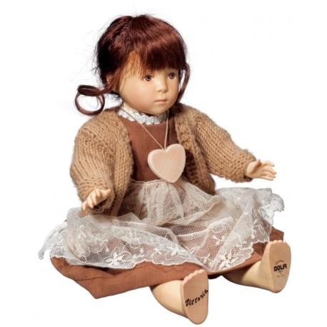 Viktoria Puppe aus Holz